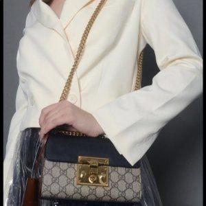 New  Padlock Small GG square Shoulder Bag